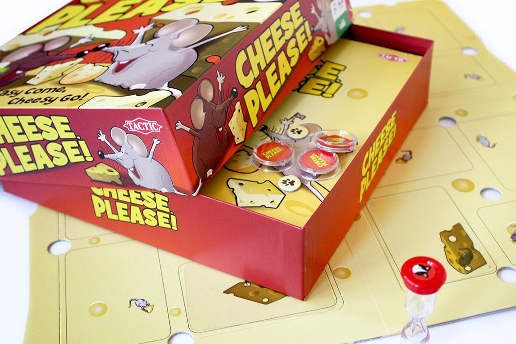 Pelitestissä: Cheese Please!