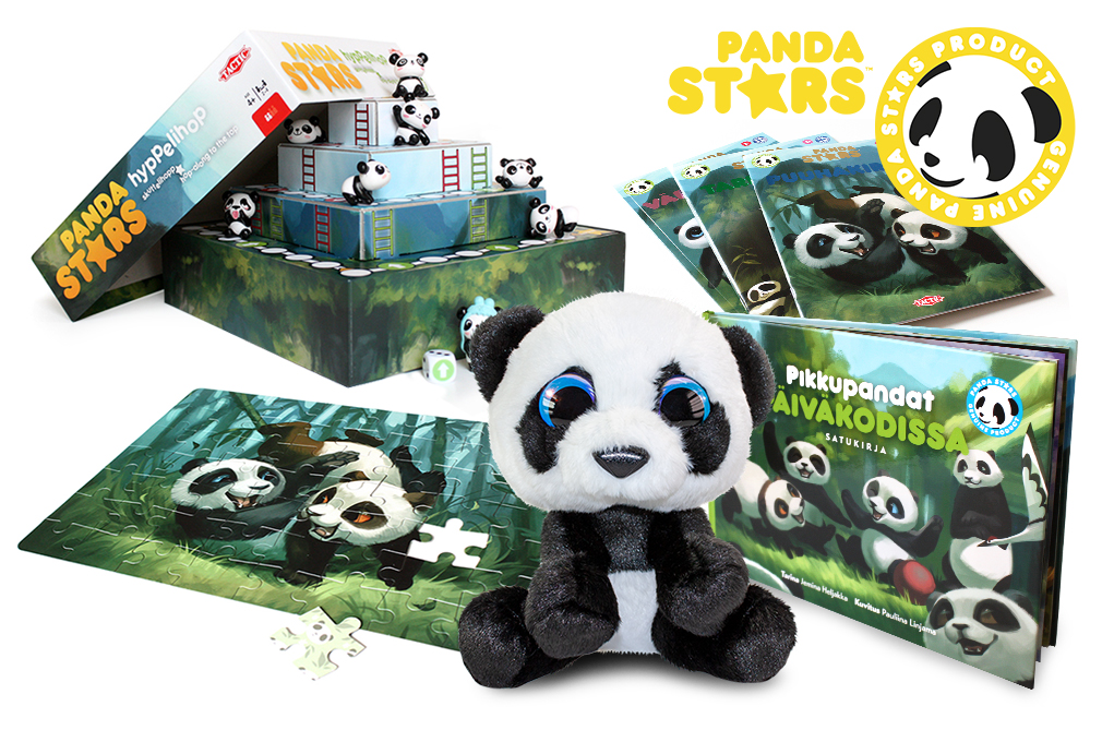 Uutta: Panda Stars