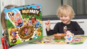 Pelitestissä uutuus: Mud Party
