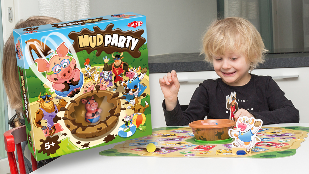 You are currently viewing Pelitestissä uutuus: Mud Party